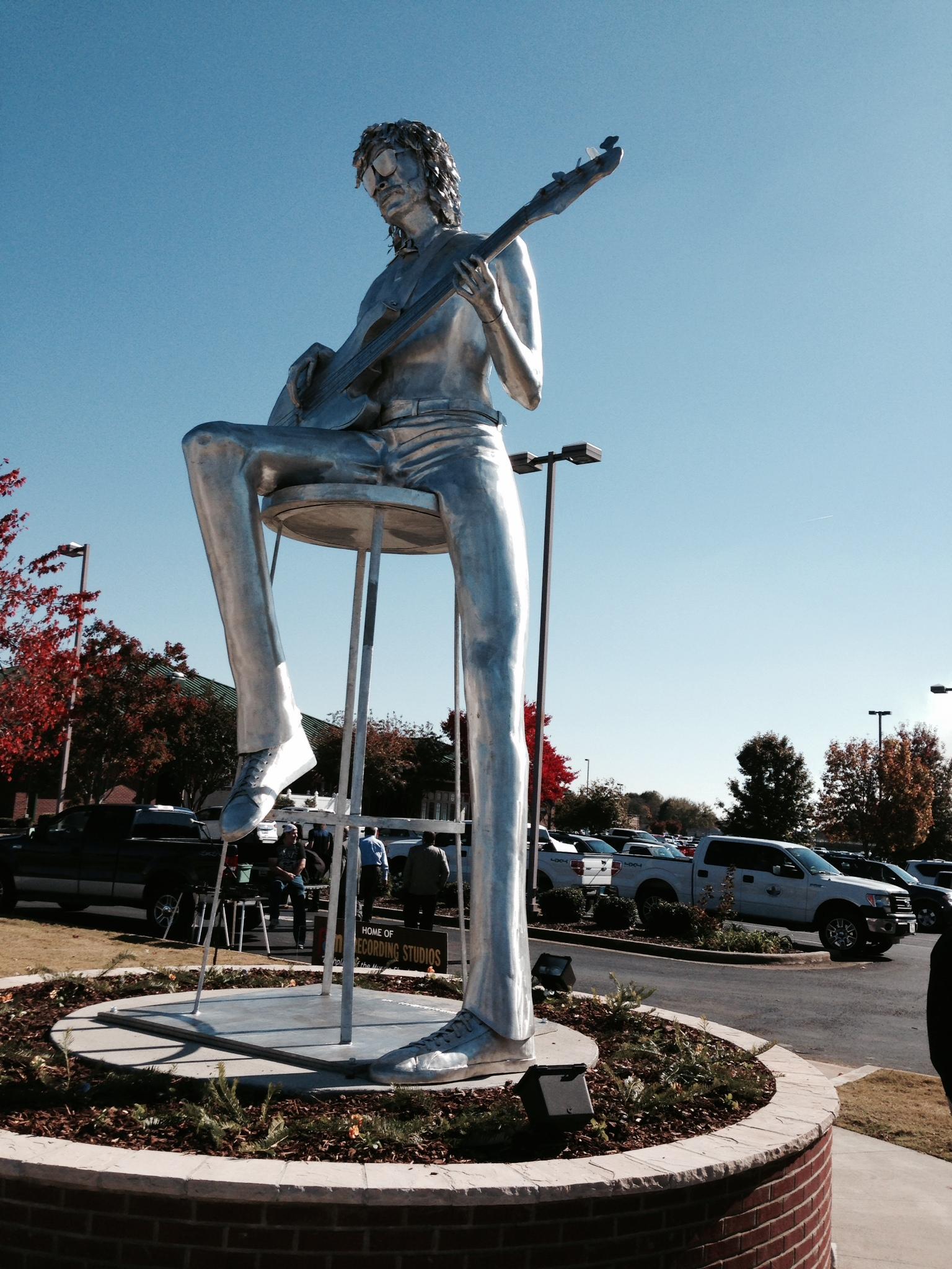David Hood Statue