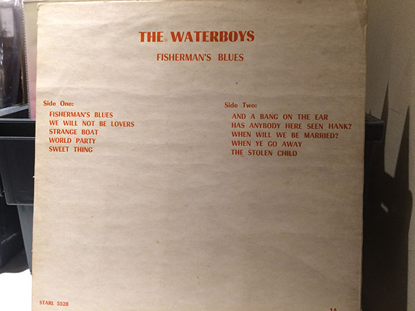 Fisherman's Blues Back Cover