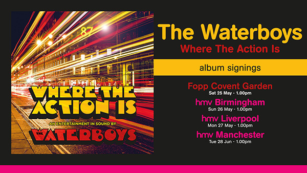 Waterboys Signings