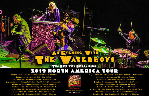 Waterboys 2019 US Tour